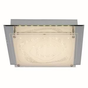 Brilliant AG Applique/Plafonnier 17W FANTASIE -1x17W LED intégrée -BLANC/CHROME EFFET MIROIR G94439_15