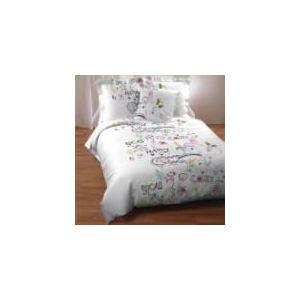 Lestra Couette imprimée You en polyester (140 x 200 cm)