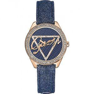 Guess W0456L - Montre pour femme avec bracelet en cuir