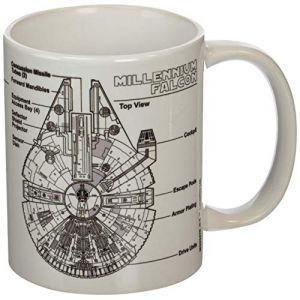 Mug Millenni Falcon Sketch