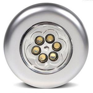 Maclean MCE27 Ampoule LED Lampe avec détecteur de mouvement PIR capteur E27 8 W Argent