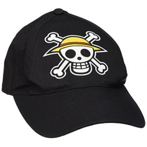 """Abystyle Casquette ONE PIECE - Black """"Skull"""""""