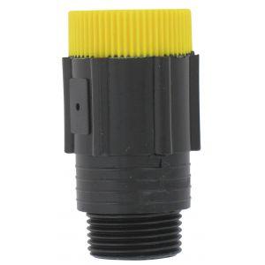 Cap Vert Régulateur de pression - Filetage Mâle 20 x 27 - Femelle 20 x 27 mm