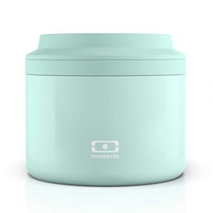 monbento MB Element Matcha lunch box isotherme vert - Boîte bento qui garde votre repas chaud - sans BPA - durable et sûre