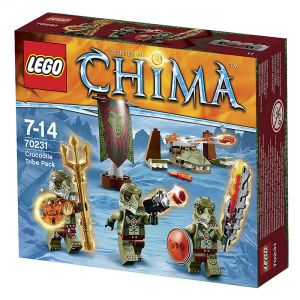 Lego 70231 - Legends of Chima : La tribu Crocodile