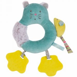 Moulin roty Anneau-hochet Chat Les Pachats
