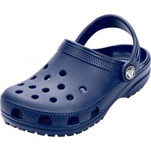 Crocs Classic Clog Kids, Sabots Mixte Enfant, Bleu (Navy), 33-34 EU