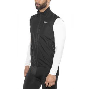 Gore Wear Gore Windstopper Light Vest - Gilet vélo taille M, noir
