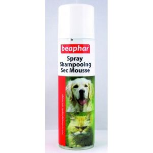 Beaphar Spray shampooing sec pour chiens et chats (250 ml)