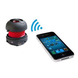 Clip Sonic TEC573 - Mini haut-parleur Bluetooth 3.0