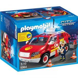 Playmobil 5364 City action - Véhicule d'intervention avec sirène