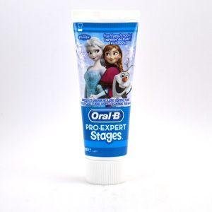 Oral-B Pro-Expert Stages Reine des Neiges - Dentifrice pour enfant (75 ml)