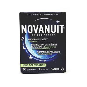 Sanofi Novanuit triple action - 30 comprimés
