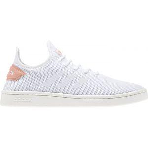 Adidas COURT ADAPT, BLC/ROS - BLC/ROS - femme - CHAUSSURES BASSES