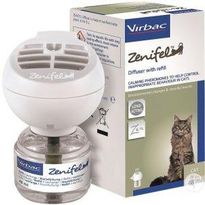 Virbac Zenifel Recharge et Prise diffuseur - Flacon de 48ml