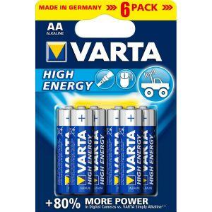 Varta Piles High Energy LR6 X6