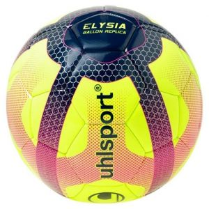 Uhlsport Ballon de Football Elysia Replica - Jaune, bleu et rouge - Taille 5