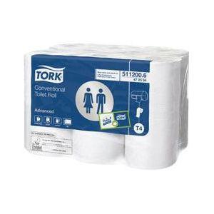 Tork Papier toilette double épaisseur Préférence 200 (108 rouleaux)