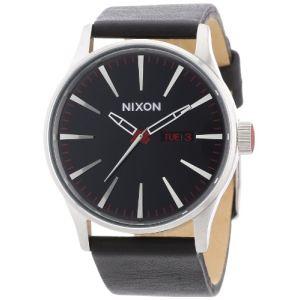 Nixon A105-1113 - Montre pour homme The Sentry Leather
