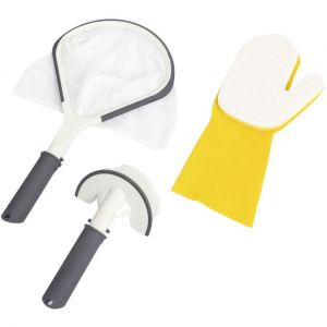 Bestway Set de nettoyage pour spa - 3 Accessoires