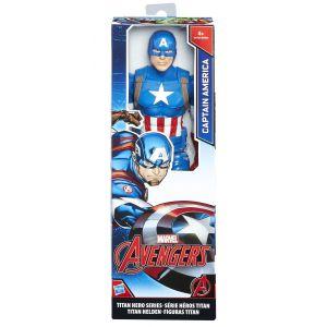 Hasbro Figurine Avengers Captain America Titan Hero Marvel 30 cm