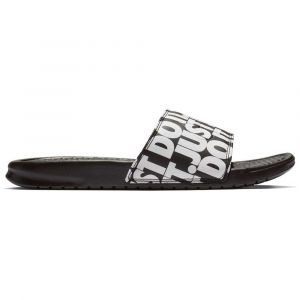 Nike BENASSI PRINT JDI, NOIR/BLANC - NOIR / BLANC - homme - SANDALES