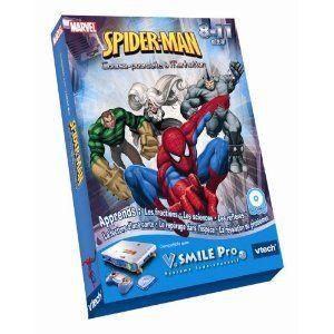Vtech Jeu V.Smile Pro : Spider-Man - Course Poursuite À Manhattan