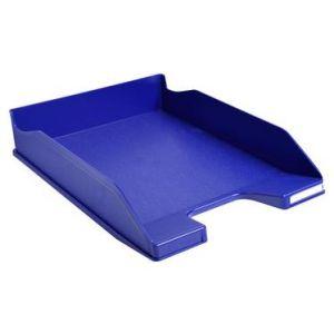 Exacompta 113104D - Corbeille à courrier COMBO MIDI Office, bleu nuit