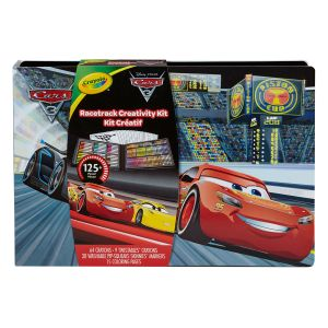 Crayola Mallette deluxe Cars 3