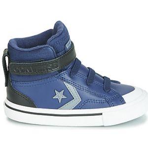 Converse Chaussures enfant PRO BLAZE STRAP MARTIAN LEATHER HI bleu - Taille 20,21,22,23,24,25,26