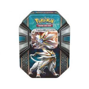 Asmodée Pokebox Solgaleo Gx - Carte à collectionner Pokemon boite metal Bleue
