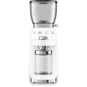 Smeg CGF01WHEU Blanc - Broyeur à café