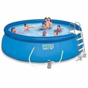 Intex Piscine autoportée Easy Set 4,57 x h1,22m