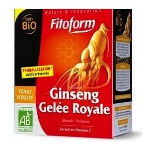 Fitoform Ginseng et gelée royale 20 ampoules