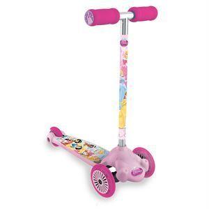 Mondo Patinette 3 roues Twist & Roll Disney Princesse