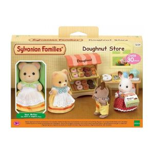 Epoch Sylvanian Families 5239 - Stand de donuts et figurine