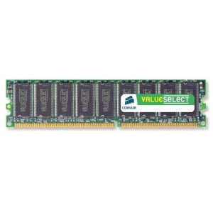 Image de Corsair VS1GB400C3 - Barrette mémoire Value Select 1 Go DDR 400 MHz CL3 184 broches