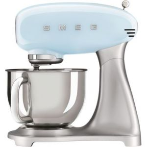 Smeg Robot pâtissier SMF02PBEU Bleu Azur