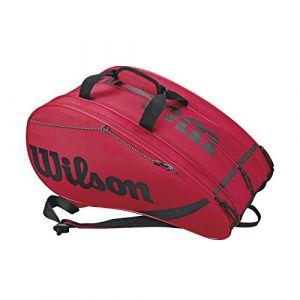 Wilson Sac de sport Sac à raquettes rouge - Taille Unique