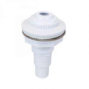 Linxor Buse de refoulement pour Piscine Hors Sol avec connecteur pour Tuyau 32 et 38 mm - Blanc - Norme CE