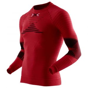 X-Bionic Running Effektor Power OW - T-shirt manches longues running Homme - rouge S T-shirts de compression