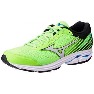 72b57d3b6a Mizuno Chaussures running Wave Rider 22 - Green Gecko / Silver / Brilliant  Blue - Taille
