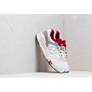 New Balance 997 Blanc / Bordeaux 45 Homme
