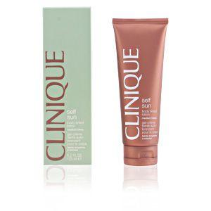 Clinique Self sun - Gel-crème teinté auto-bronzant pour le corps teinte moyenne à intense