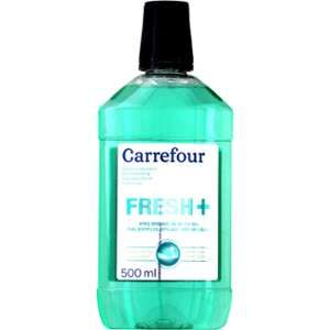 Carrefour Solution dentaire Fresh+ 500 ml