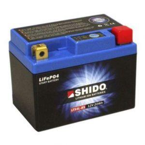 Shido Batterie Lithium LTX4L-BS