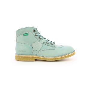 Kickers Kick Legend - Chaussures à lacets Femme, Bleu