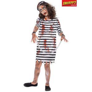 Smiffy's Déguisement prisonnière enchaînée zombie fille - Taille: 7-9 ans (130/143 cm)