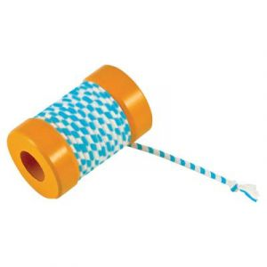 Petstages Orka Kat Spool with String Jouet à Pourchasser/Attraper pour Chat