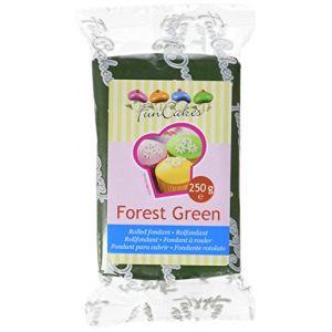 FunCakes Pâte à sucre vert forêt 250g